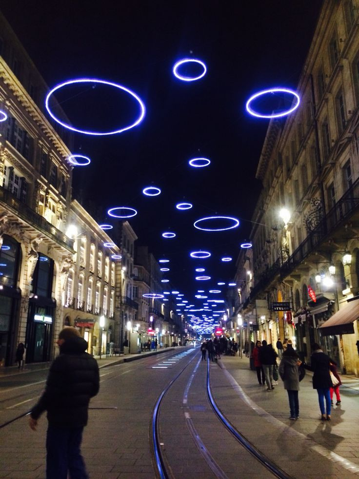 Bordeaux at Christmas time