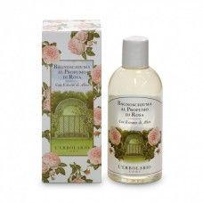 Rózsa fürdő- és tusolózselé - Rendeld meg online! Lerbolario Naturkozmetikumok http://lerbolario-naturkozmetikumok.hu/kategoriak/testapolas/tusfurdok