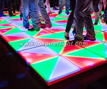Party DMX LED dance disco floor.