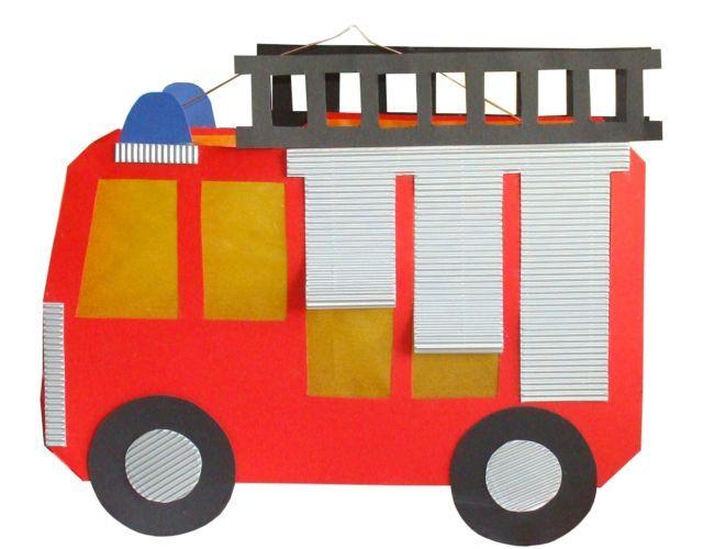 4 LATERNEN Feuerwehrauto Bastelpackung Laterne St. Martin 9674 | eBay