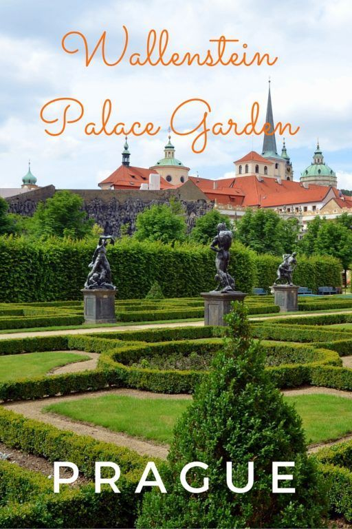 Guide and tips for exploring Wallenstein Palace Garden in Prague, Czech Republic with kids. The Wallenstein Palace is currently the home of the Czech Senate.
