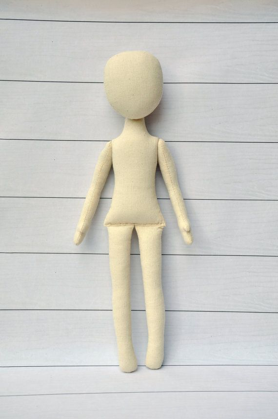 "Blank doll body-15"", Anna Doll,   blank rag doll, ragdoll body,the body of the…"