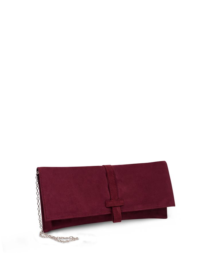 JOCKS classic line clutch for formal occasions! Bordeaux