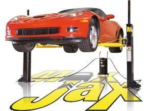 max jax portable two post lift kit