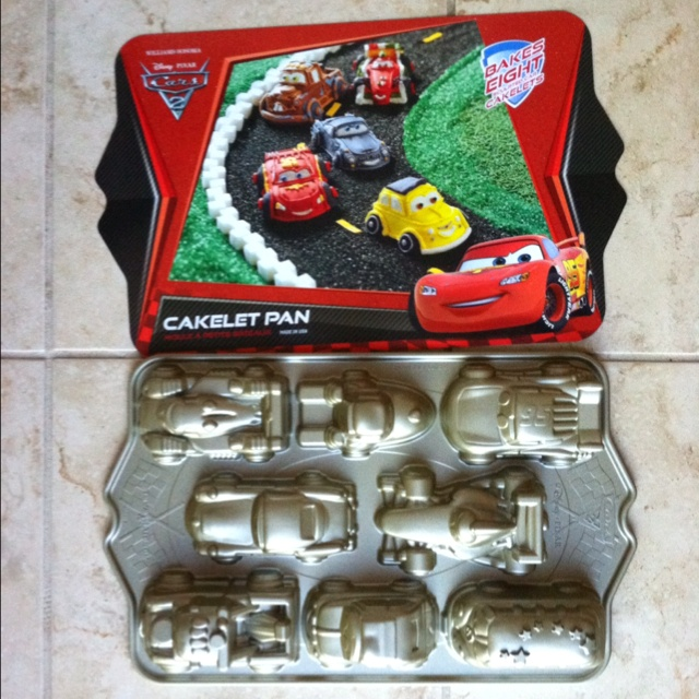 Cars 2 cake pan from William Sonoma Get the party started The