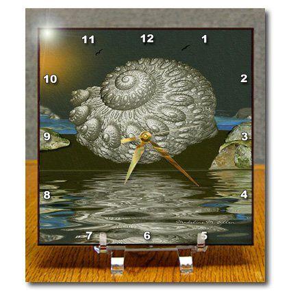 dc_9115_1 SmudgeArt Art Designs - Tidal Pool - Desk Clocks - 6x6 Desk Clock 3dRose http://www.amazon.com/dp/B004JD7OJE/ref=cm_sw_r_pi_dp_NYQbwb1HZ212G
