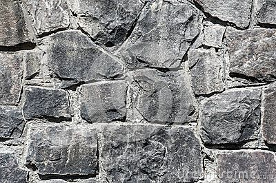 Stone wall texture for background.
