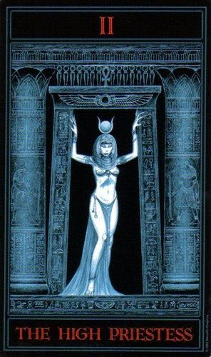 The Gothic Tarot: The High Priestess