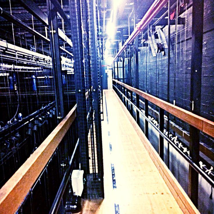 Teatro Real Madrid backstage
