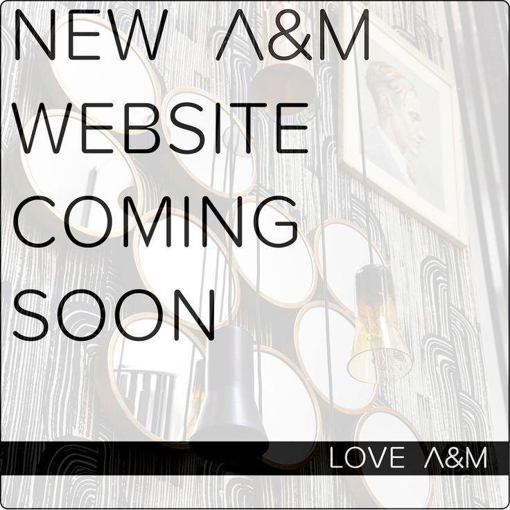 Team A&M excited for our new website due to launch this week! Stay tuned and we'll keep you updated. #AandM #newwebsite #design #architecture #melbourne