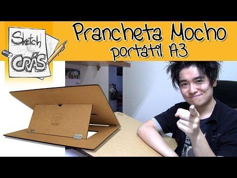 Prancheta Portátil Mocho A4 - YouTube