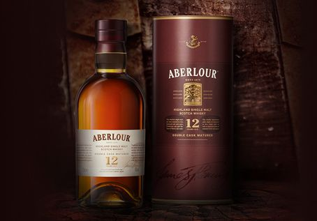 (B) Aberlour 12 / Double Cask Matured (Speyside): This malt MUST be given time to open - both in the bottle and the glass. Without, it has an odd dusty quality which can be off-putting. However, when given time to open, the malty nose presents green apple and toffee. On the palate, more apple, oak, vanilla and other spices. Finish is sweet and creamy but eventually dries out. Slight deduction in grade for the rough start, but ultimately a fine drink.