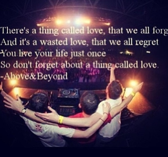 This is probably one of my favorite EDM lyric phrases. #A&B #edm