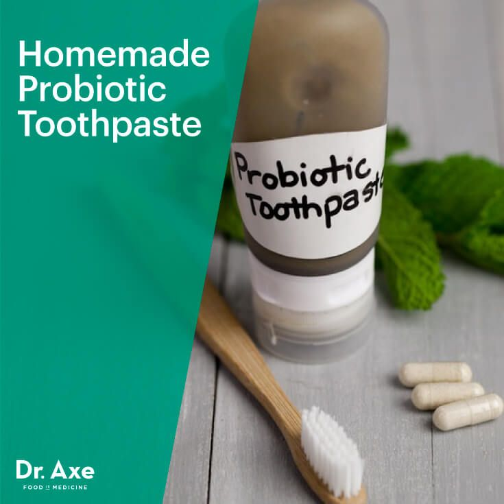 Homemade Probiotic Toothpaste - Dr.Axe