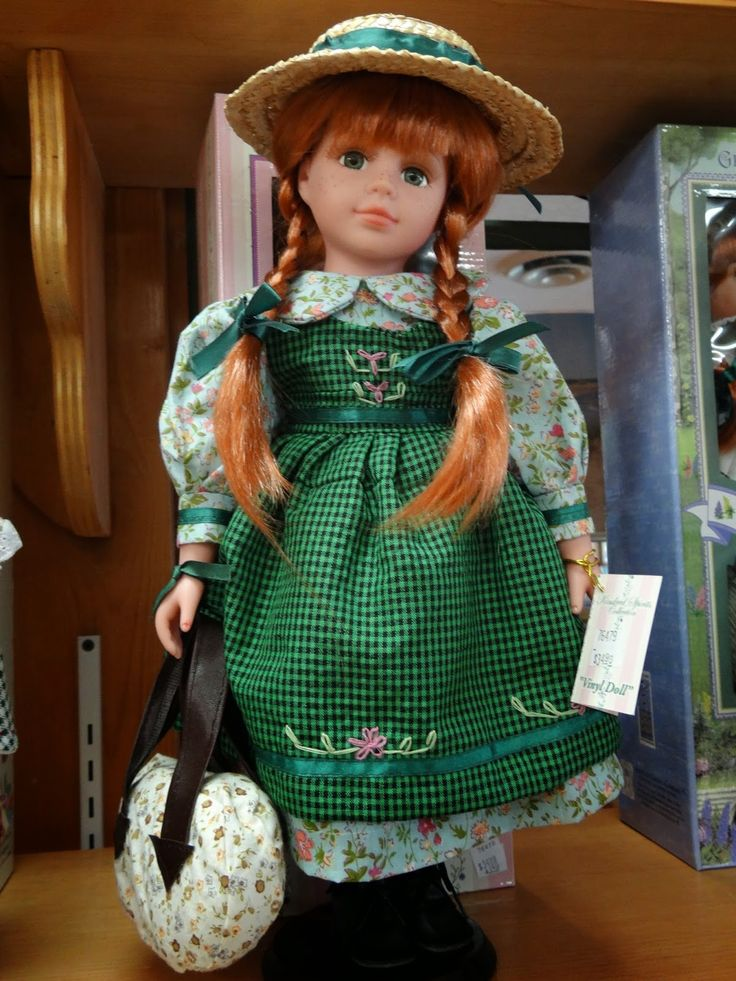 Anne of Green Gables doll | Anne of Green Gables and Lucy ...