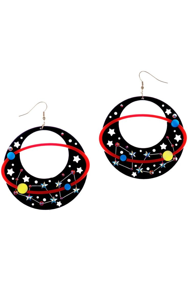 Sky Lab Astronomy Earrings, £95: http://www.tattydevine.com/shop/by-product/collections/aw13/sky-lab-astronomy-bangle.html