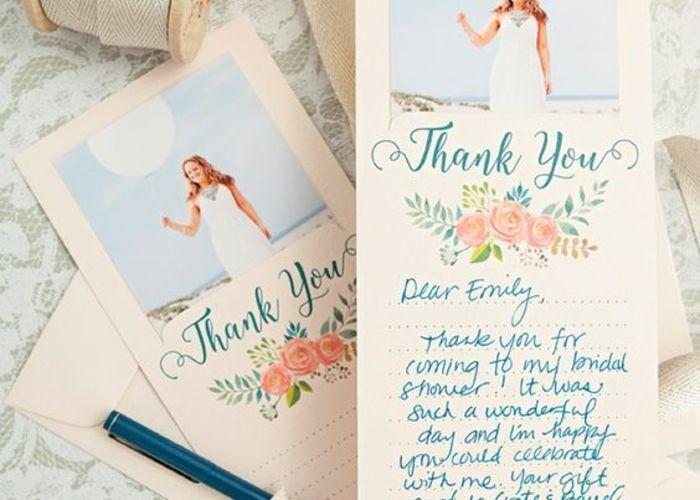\海外発DIY/特別なゲストに渡したい、メッセージ入り『Thank youカード』の作り方*