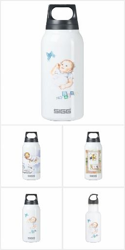 Baby thermos water bottle