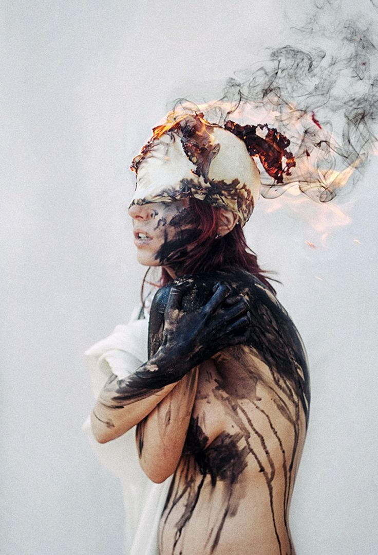 I liked this image as I thought it related well to januz miralles' work. I also think that it is interesting how the elements can depicts people's emotions.