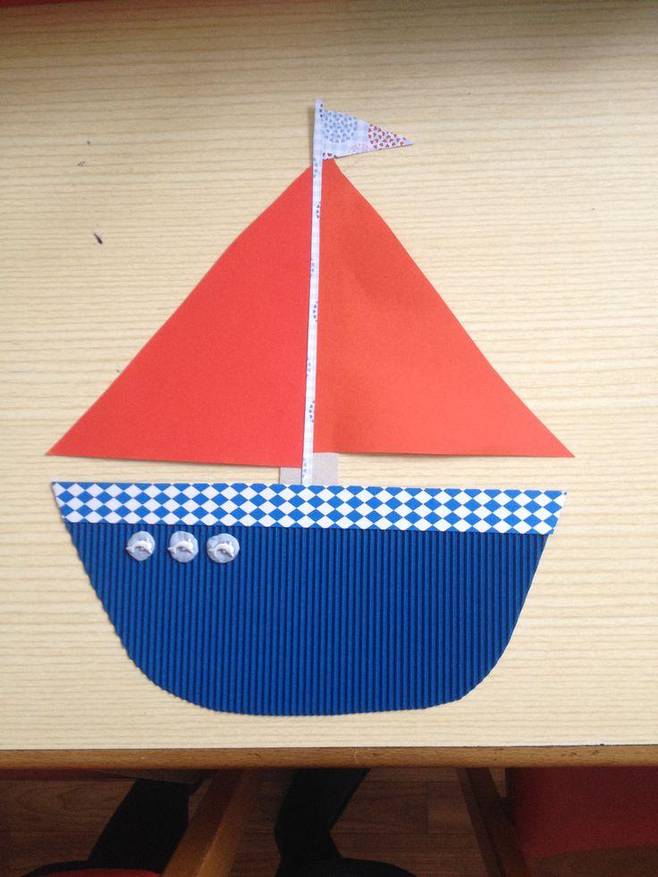 hajó kartonokból