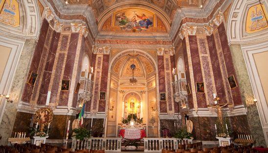 La #Chiesa di #SMariadellaQuerciadeimacellai di #Roma #visiteguidate dal lunedi al venerdi
