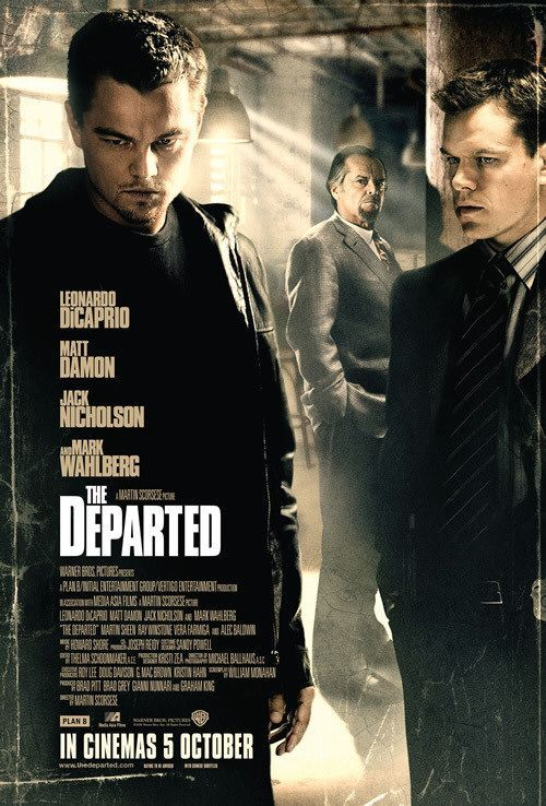 The Departed / Les Infiltrés - 2006 - directed by : Martin Scorsese - cast : Leonardo DiCaprio, Matt Damon, Jack Nicholson, Mark Wahlberg, Martin Sheen, Anthony Anderson, Vera Farmiga, Ray Winstone, Alec Baldwin