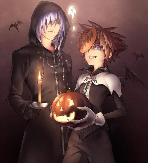 Sora & Riku halloween