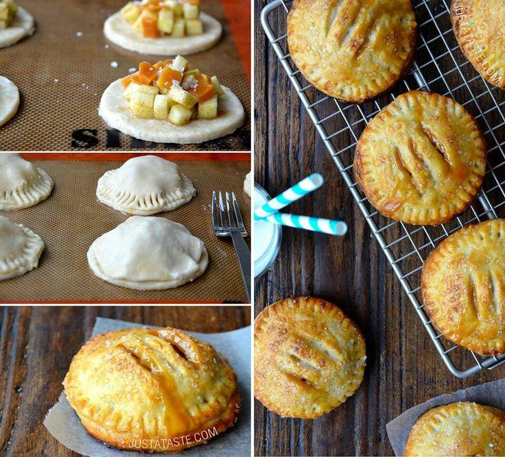 Caramel apple hand pie
