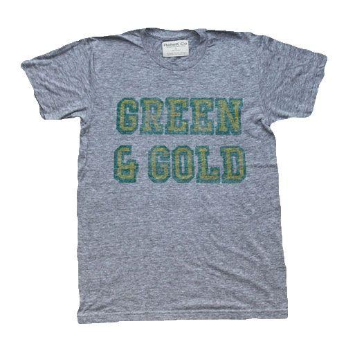 Mens Green and Gold T-Shirt
