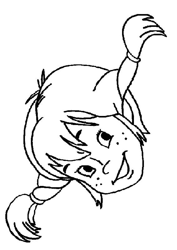 Pippi Longstocking Coloring Pages 6