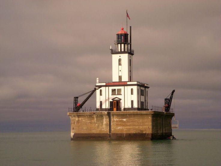 Lighthouse at Lake Huron, Michigan