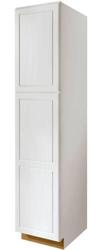 "Value Choice 24"" Ontario White Standard 2-Door Tall Utility Cabinet at Menards $329"
