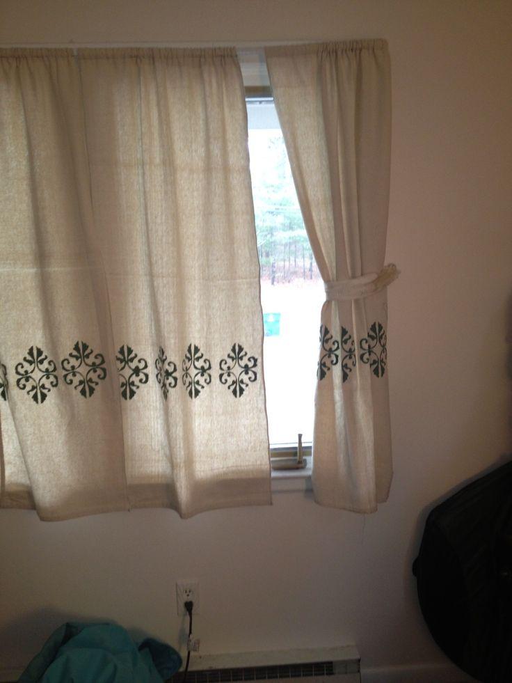 Canvas Drop Cloth Curtains Cottage And Vine Canvas Drop