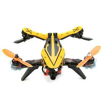 Eachine V-tail 210 FPV Drone 1080P DVR F3 EVO Flight Controller 5.8G 40CH 200mW OSD ARF(20% off coupon:VARF) Sale - Banggood.com