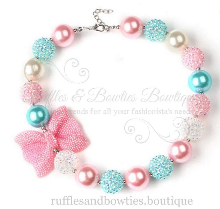 The little ones will absolutely LOVE these bubblegum necklaces! Let the little girls hearts melt with these unique little girls chunky necklace. Wearing these cute bubblegum necklace the girls looks s