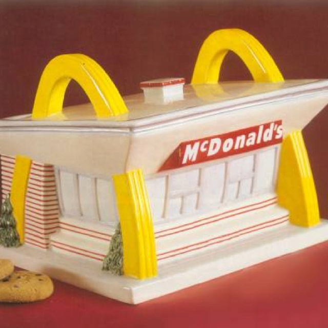 Vintage McDonalds Resturant Cookie Jar