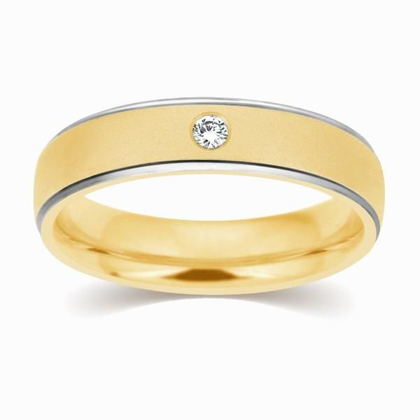 Gold Couple Gold Wedding Ring With Diamond In 2020 White Gold Wedding Bands Wedding Rings Sets Gold Wedding Ring Bands