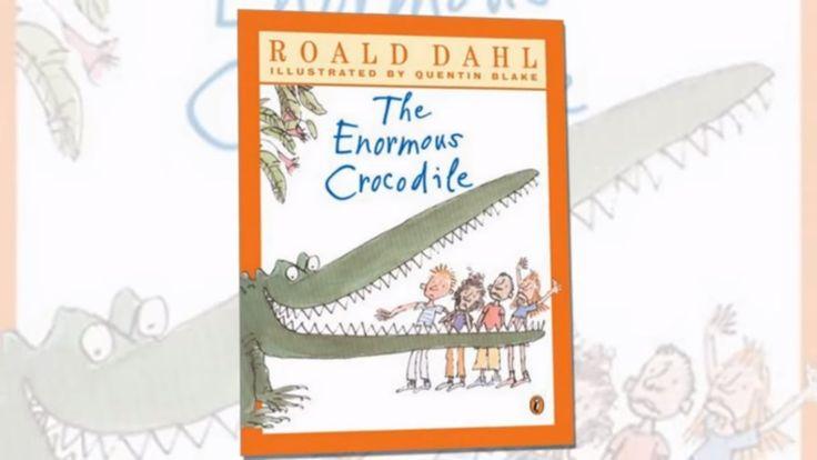 The Enormous Crocodile Read Aloud/ Interesting Facts about Roald Dahl / ...