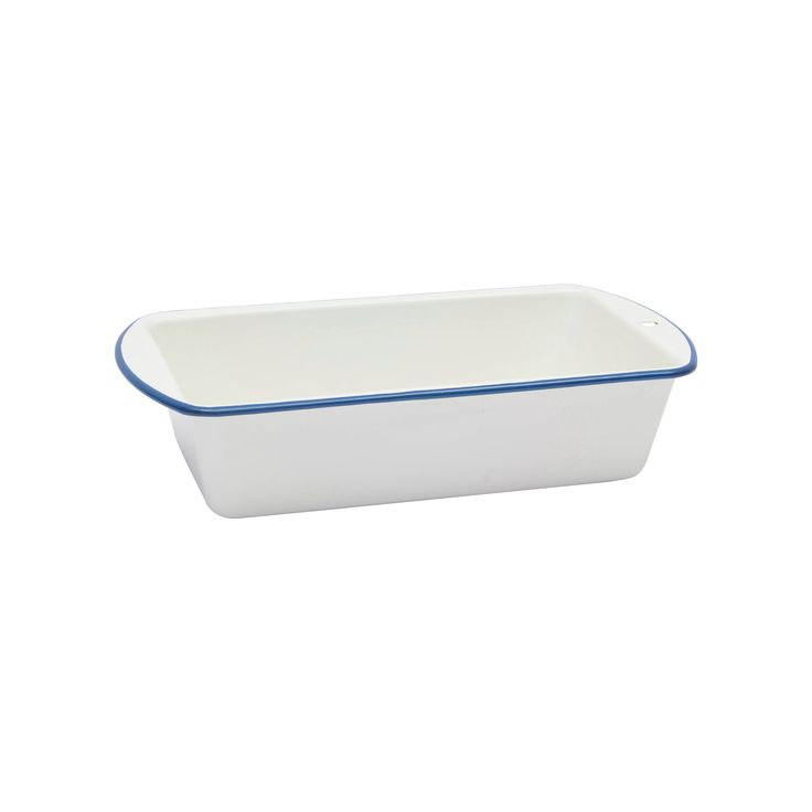 Crow Canyon Home, Loaf Pan, White