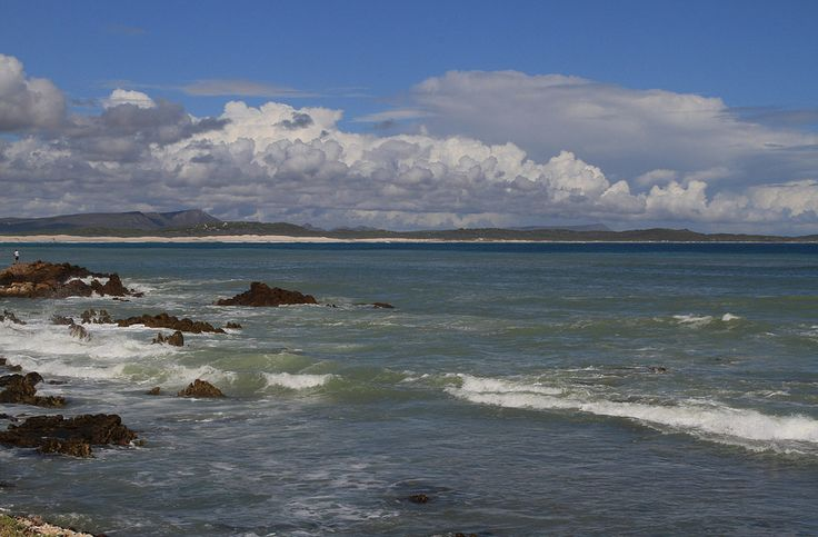 Franskraal beach is a beautiful combination of sand and rock pools.