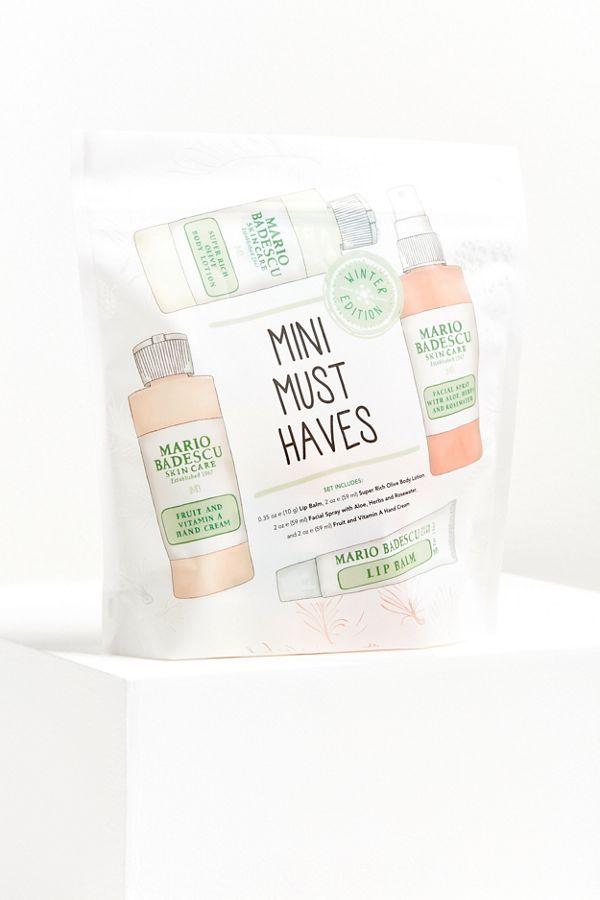 Mario Badescu Mini Must Have Winter Edition Set Popular Skin Care Products Skin Care Organic Skin Care Diy