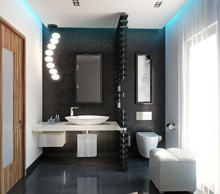 Having limited space means that you can really afford to splurge on the finer details and finishes for a spectacular end result. Create an inviting guest bathroom and make a statement about your personal sense of style.