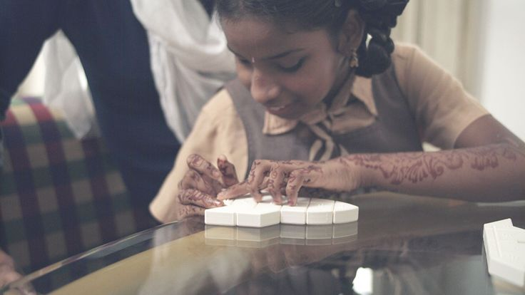 3D Printed Braille Puzzle Helps the Visually Impaired to Learn Words  ||  Learning to read Braille increases the likelihood of a visually impaired person's finding employment or pursuing higher education by more than three times. Unfo https://www.3dprint.com/206348/3d-printed-braille-puzzle/?utm_campaign=crowdfire&utm_content=crowdfire&utm_medium=social&utm_source=pinterest