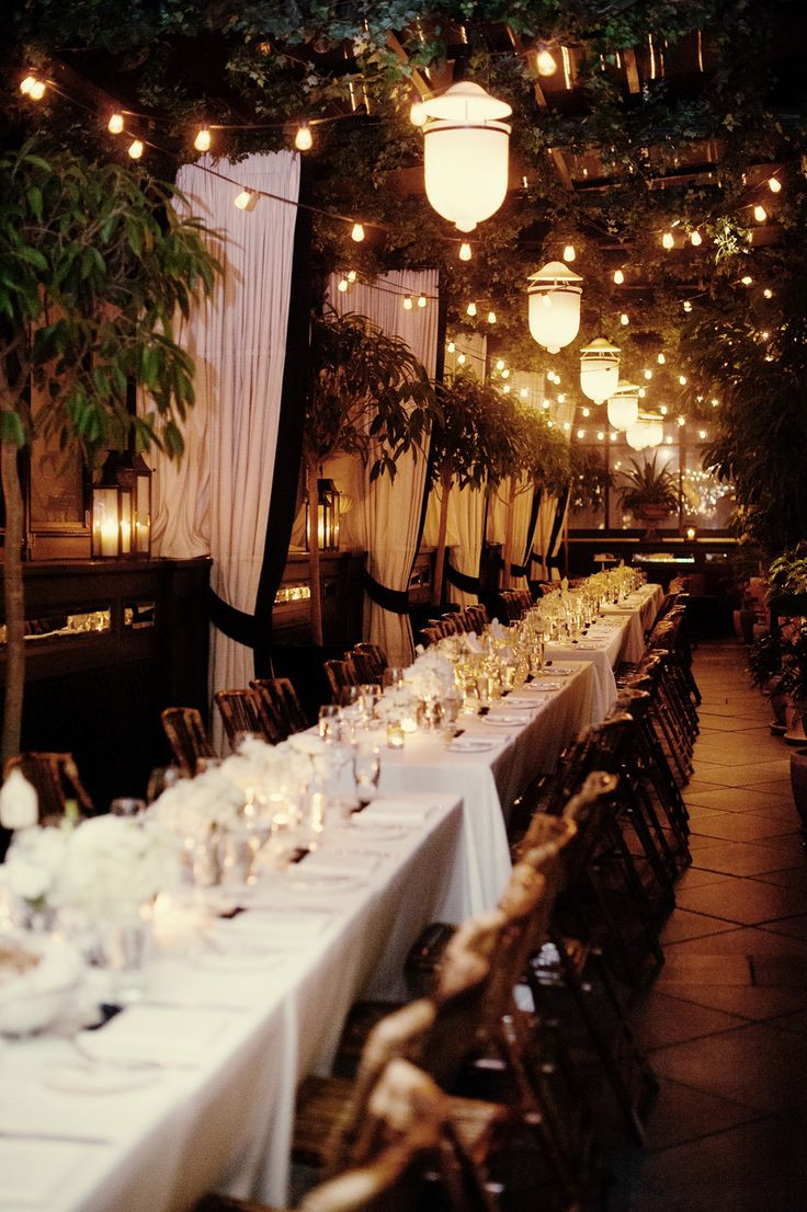 How gorgeous is this reception setting? | New York City Wedding at the Gramercy Park Hotel from Robert & Kathleen Photographers  Read more - http://www.stylemepretty.com/new-york-weddings/2013/11/07/new-york-city-wedding-at-the-gramercy-park-hotel-from-robert-kathleen-photographers/