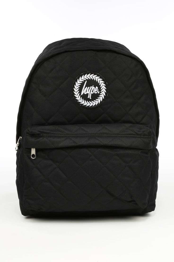 HYPE BLACK DIAMOND QUILTED BACKPACK - HYPE®