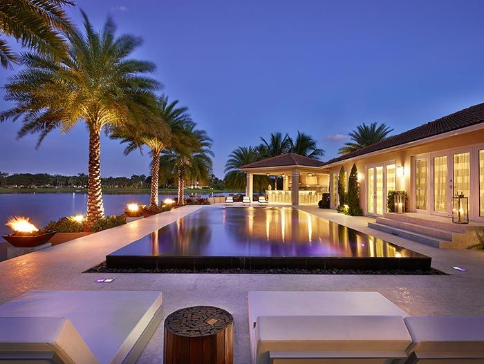 Doral Residence: Stunning House In Miami Beach Florida by Pepe Calderin Design #luxury #dream #home