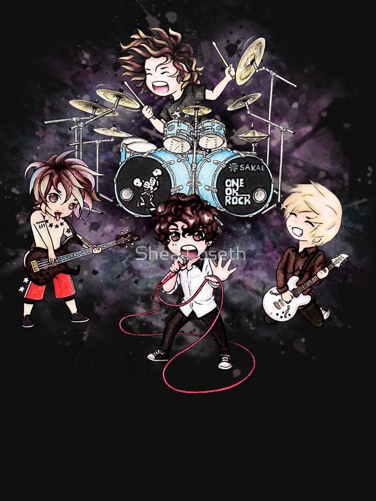 Kết quả hình ảnh cho one ok rock cartoon version