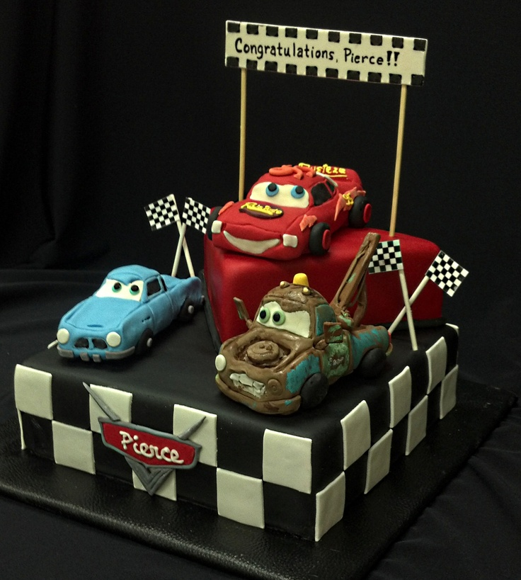 Goldilocks Cake Cars Design : Cars movie cake design by The Cake Diva. Cars ...