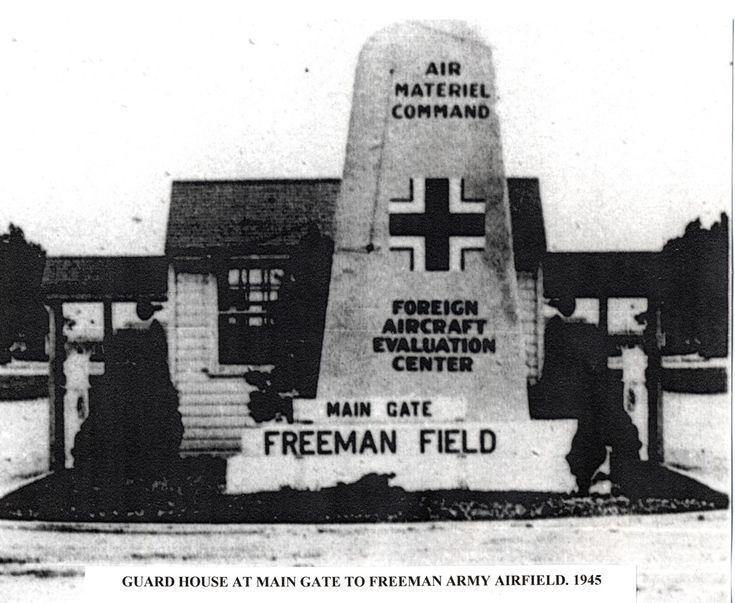 freeman army airfield museum freeman field flying - 735×603