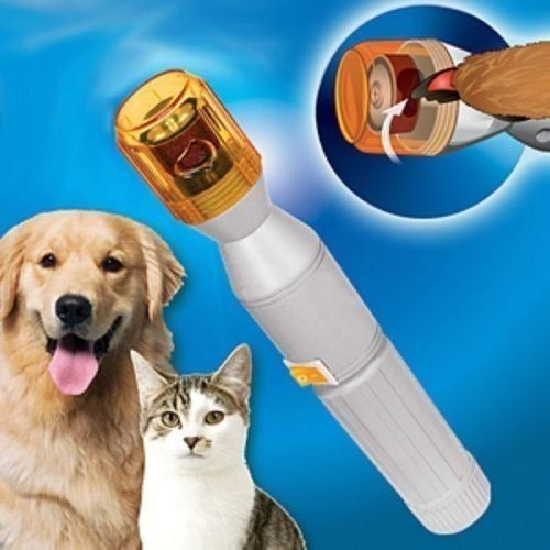 animal nail trimmer electric clipper Won't crack, splinter or break nails ** Remarkable product available now. : Dog clippers